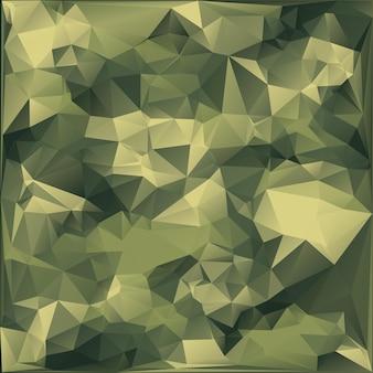 Абстрактный военный камуфляж фон геометрических фигур треугольников. многоугольный стиль.