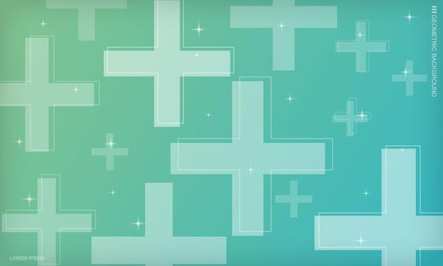 抽象的な最小限の幾何学的なグラデーションの背景