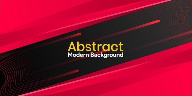 Абстрактный минимальный градиент и красочный красный фон
