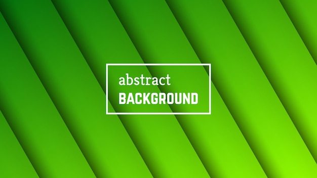 Abstract minimal line geometric background.  green line layer shape for banner, templates, cards. vector illustration.
