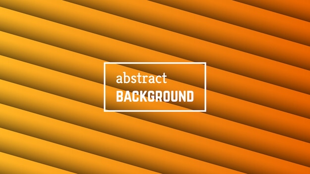 Abstract minimal line geometric background.  orange line layer shape for banner, templates, cards. vector illustration.
