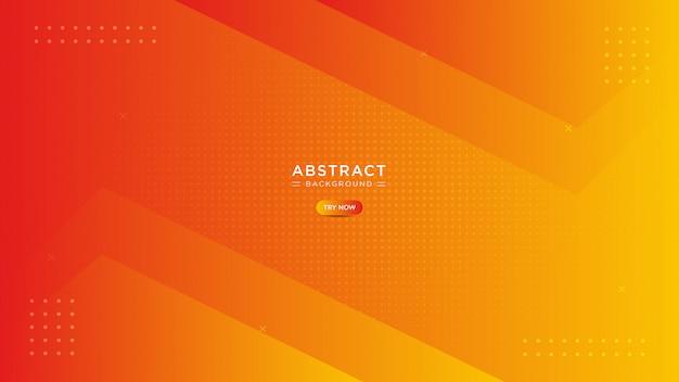 Абстрактный минимальный оранжевый фон.