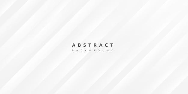 Abstract minimal white stripe background