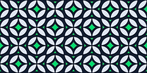抽象的なミニマリストパターン
