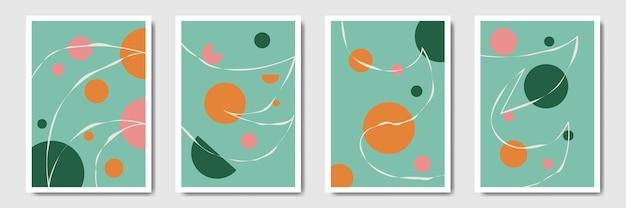 Абстрактная минималистичная форма