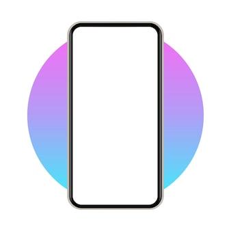 Абстрактный значок мобильного телефона. векторная иллюстрация