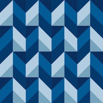 Абстрактный современный 3d геометрический бесшовный фон фон