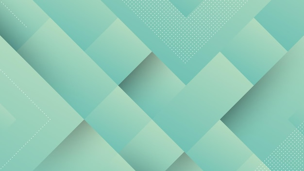 Abstract modern background with blue light gradient pastel color and square shape element