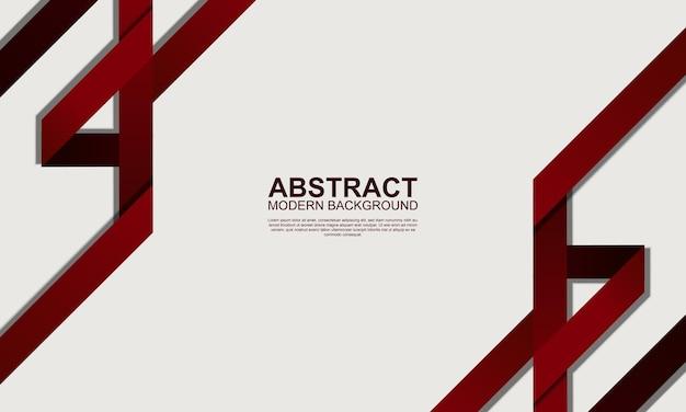 Абстрактный современный фон с темно-красными полосами векторные иллюстрации