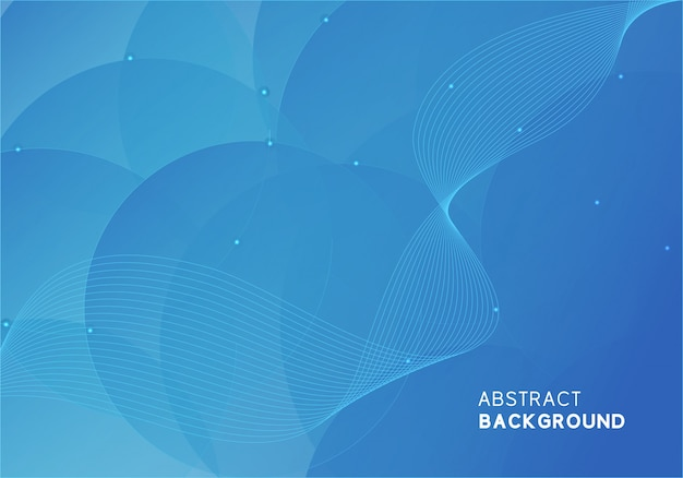 Abstract modern blue background design