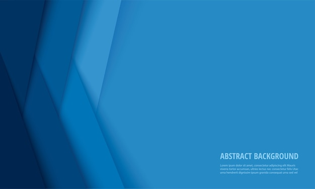 Abstract modern blue lines background