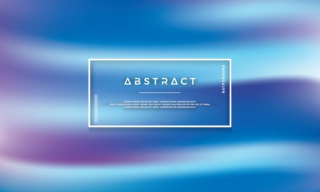 Abstract modern blue vector background