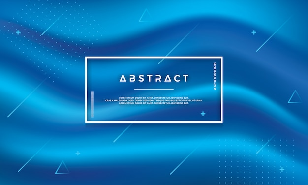 Abstract modern bluel vector background