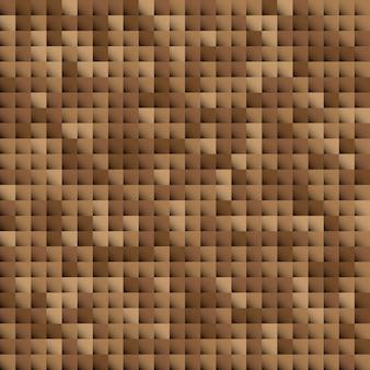 Абстрактный современный мозаичный фон коричневого цвета