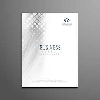 Abstract modern business brochure template