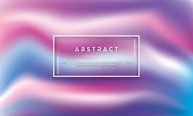 Abstract modern colorful vector background