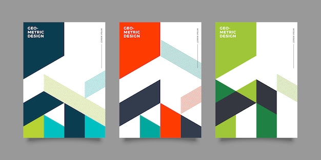 Abstract modern cover design