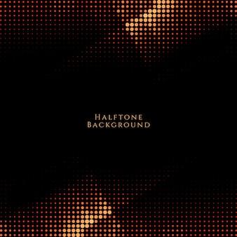 Abstract modern dark halftone design background