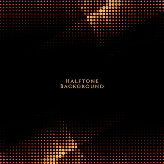 Abstract modern dark halftone design background