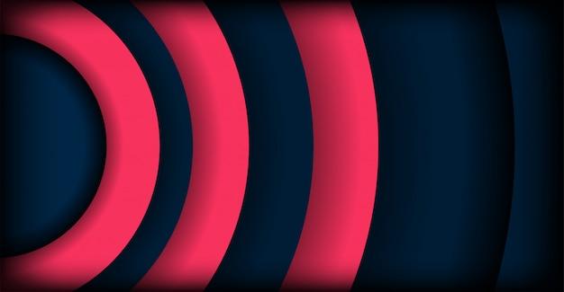 Abstract modern dark overlap layers background