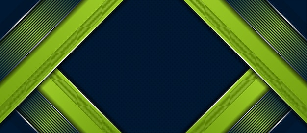Abstract modern dark premium with luxury green background