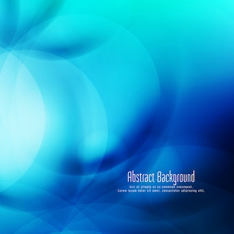 Abstract modern decorative blue background