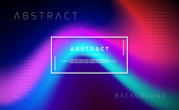 ランディングページやウェブサイトのデザインのための抽象的な現代的な動的背景。
