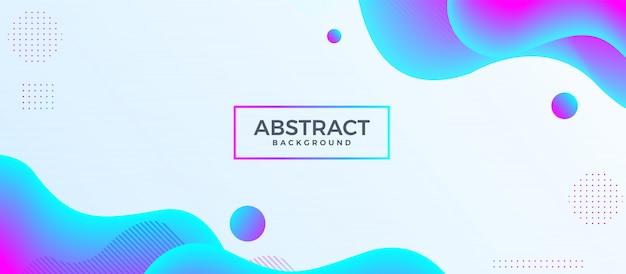 Abstract modern fluid wavy background.   design template