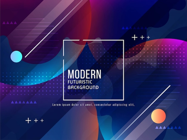 Abstract modern futuristic background