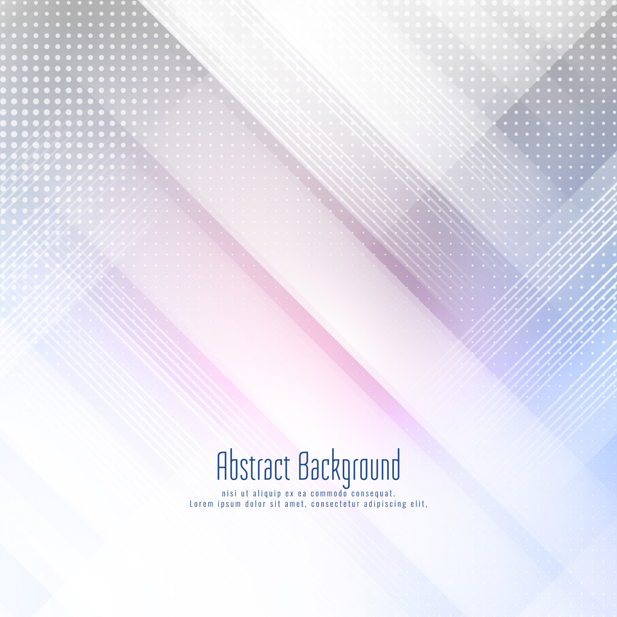 Abstract modern futuristic geometric background