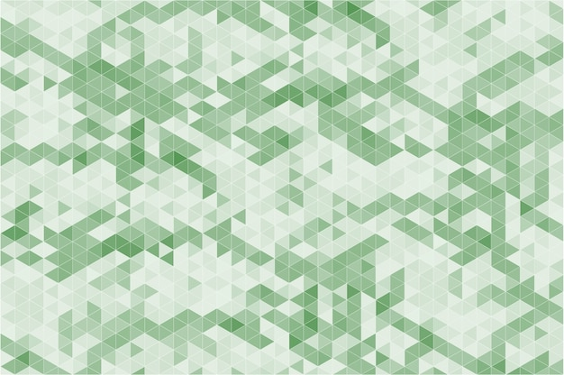 Abstract modern geometric green background.