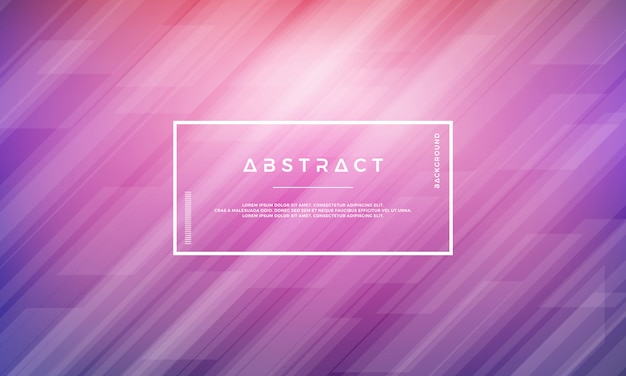 Abstract modern geometric purple vector background.