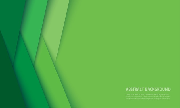 Abstract modern green lines background