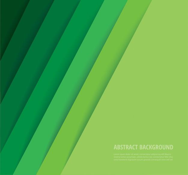 抽象的な現代緑線背景
