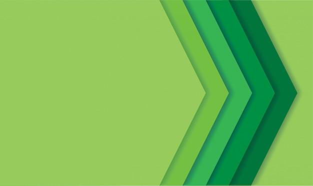 抽象的な現代的な緑の線の背景