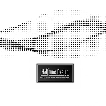 Abstract modern halftone background