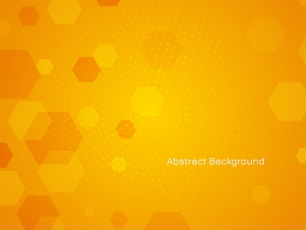 抽象的なモダンな六角形のデザインの背景ベクトル