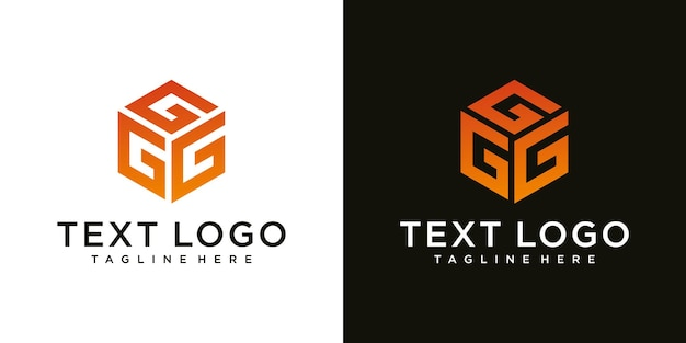 Abstract modern initial  letter g sign luxury logo design template