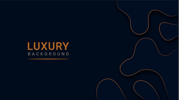 Abstract modern luxury paper cut background