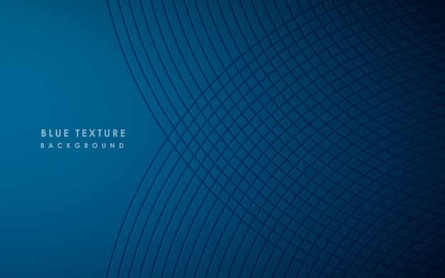 Abstract modern pattern of blue background