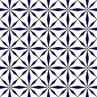 Abstract modern pattern blue and white