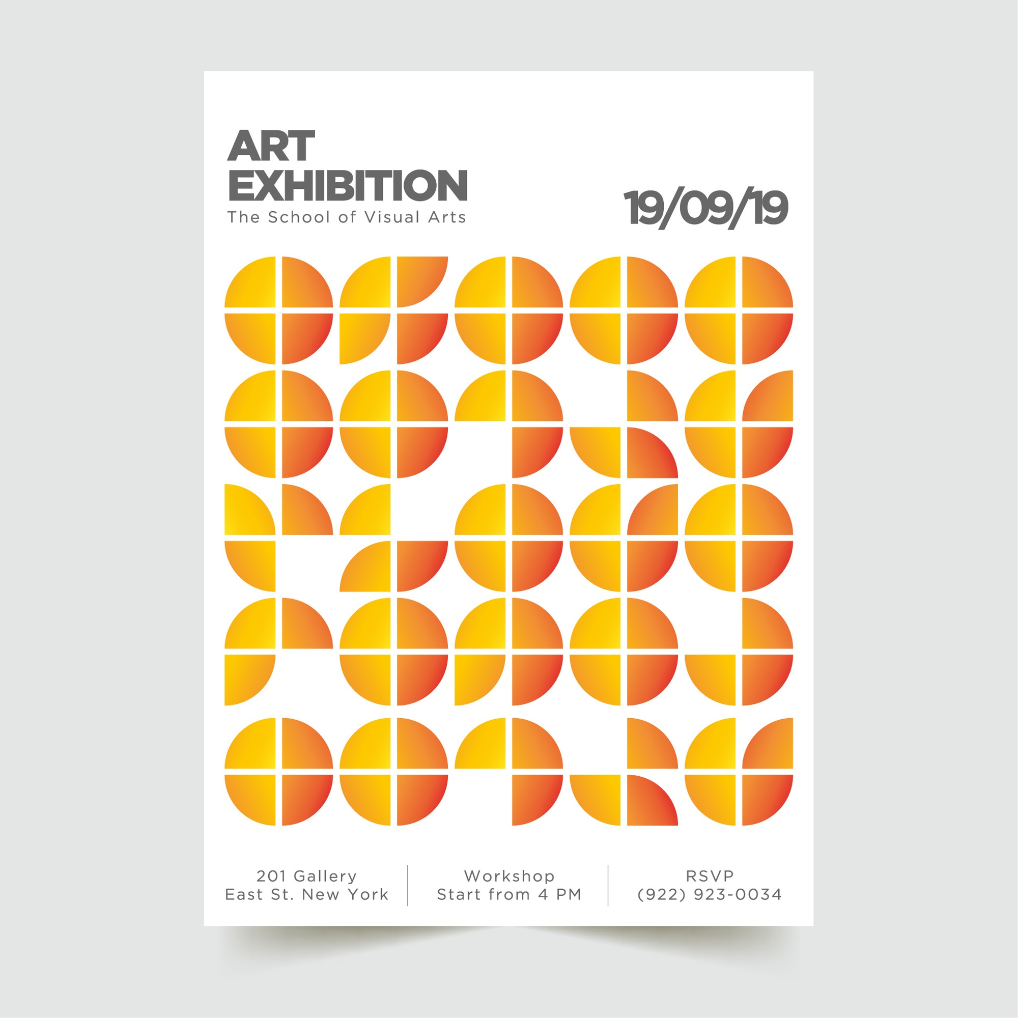 Abstract Modern Poster Template 1