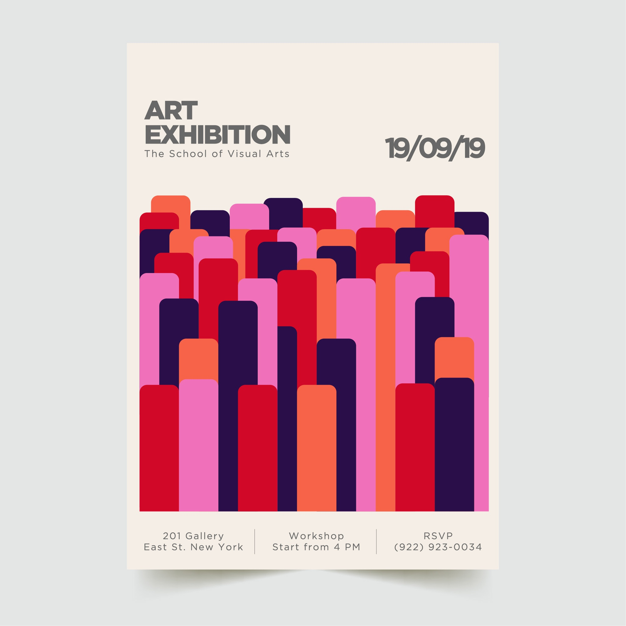 Abstract Modern Poster Template 2