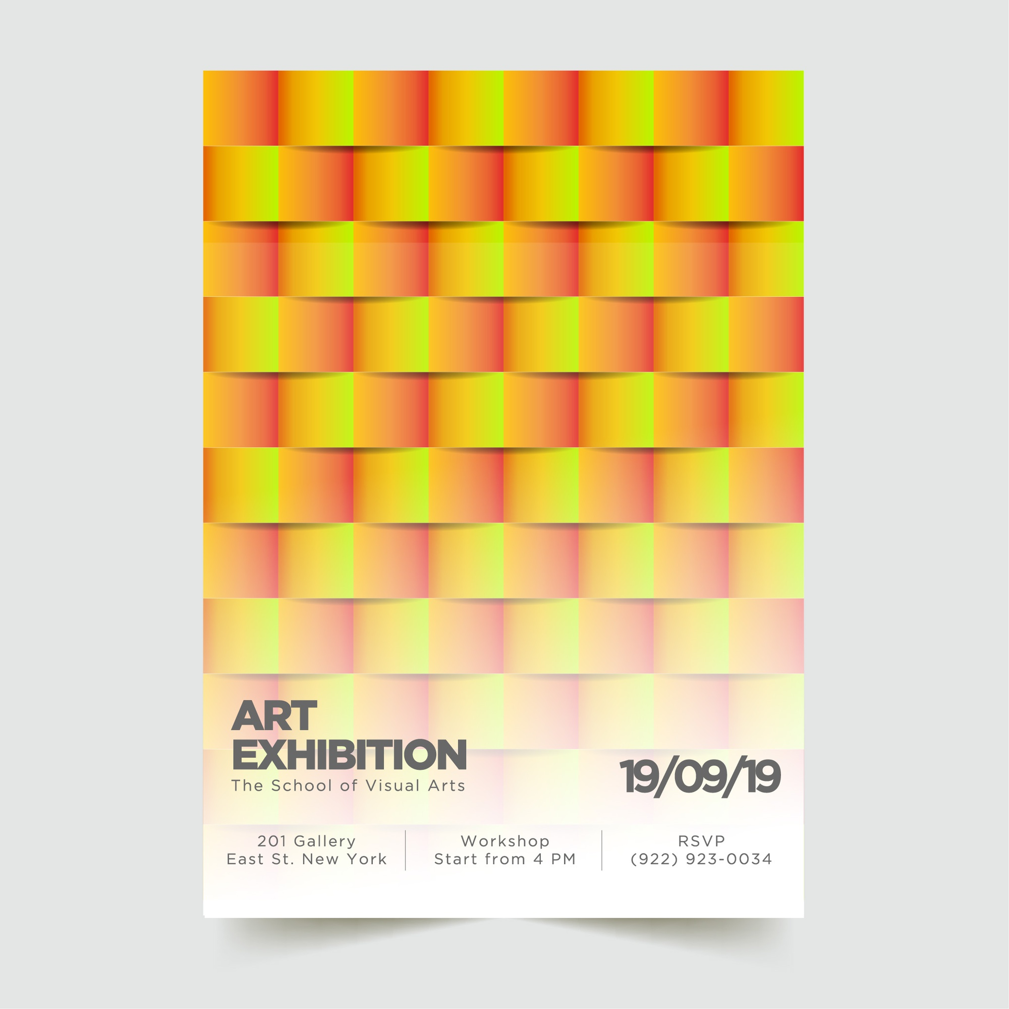 Abstract Modern Poster Template 5