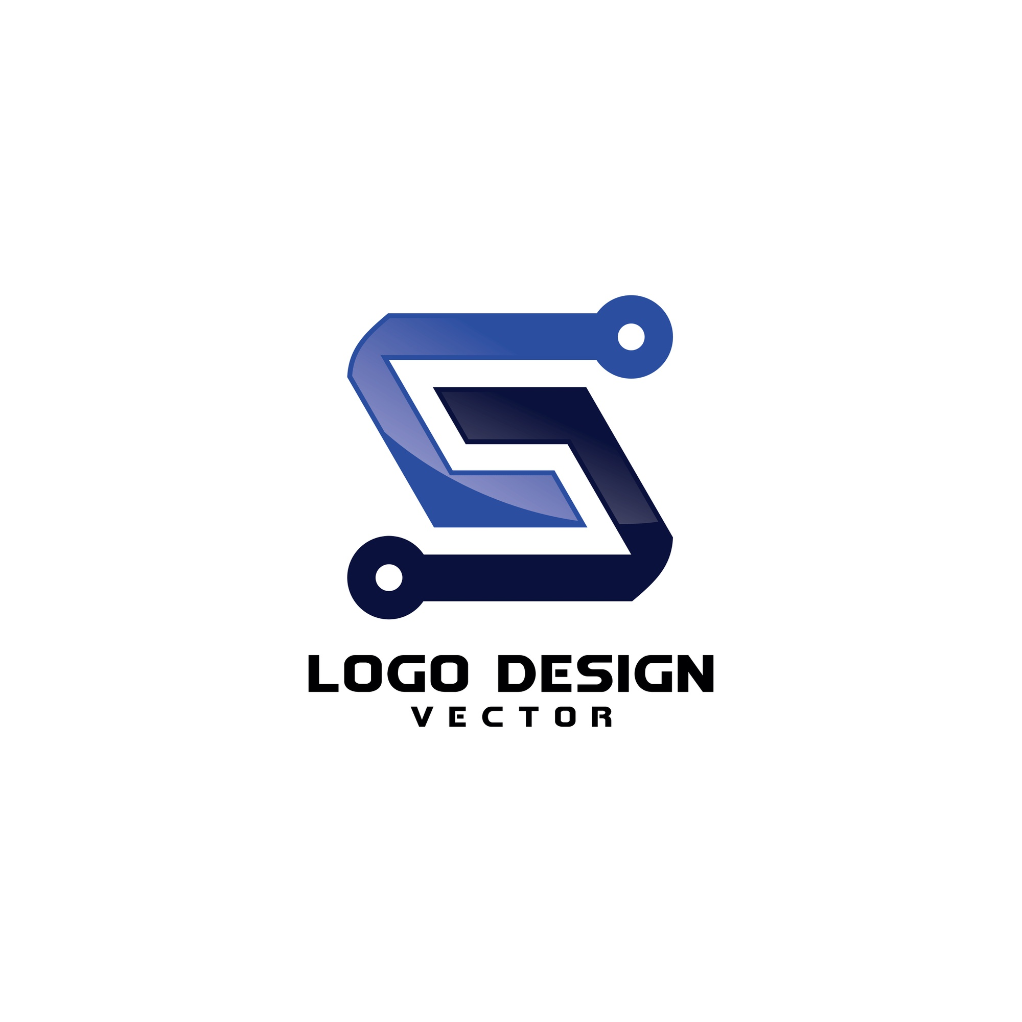 Abstract Modern S Symbol Company Logo Template
