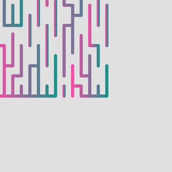 Abstract, modern, shapes, circle, multicolor, pink, turquoise, gray gradient wallpaper background vector illustration