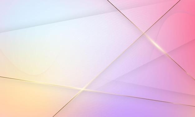 抽象的な現代的な形。クリエイティブなミニマリスト。はがきやパンフレットの表紙デザイン。