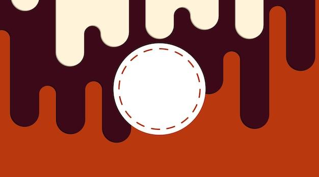 Абстрактные, современные, формы, жидкость, многоцветный, красный оранжевый, бордовый, кремовый градиент обои фон векторные иллюстрации