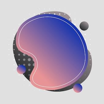 Абстрактные, современные, формы, жидкости, всплеск, многоцветный, серый, темно-серый, розовый, синий градиент обои фон векторные иллюстрации