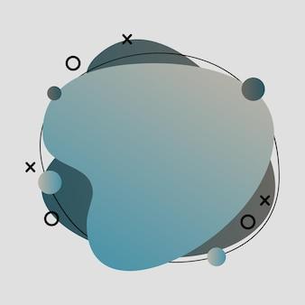 Абстрактные, современные, формы, жидкости, всплеск, многоцветный, голубой, светло-коричневый, темно-синий, серый градиент обои фон векторные иллюстрации